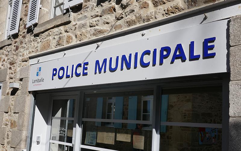 Police municipale de Lamballe-Armor